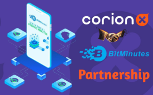 CorionX works with BitMinutes