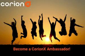 CorionX Ambassadors, let's convene!