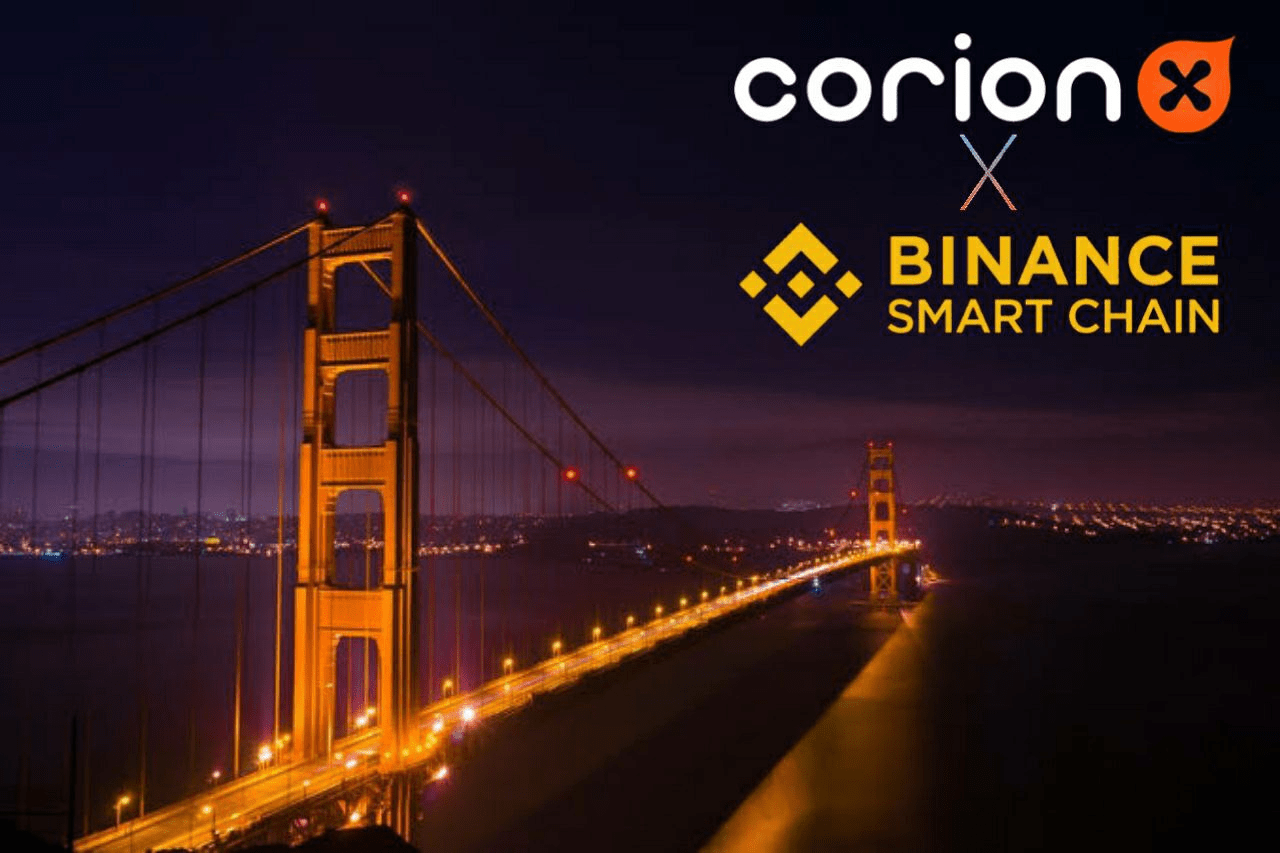 CorionX Launches on Binance Smart Chain