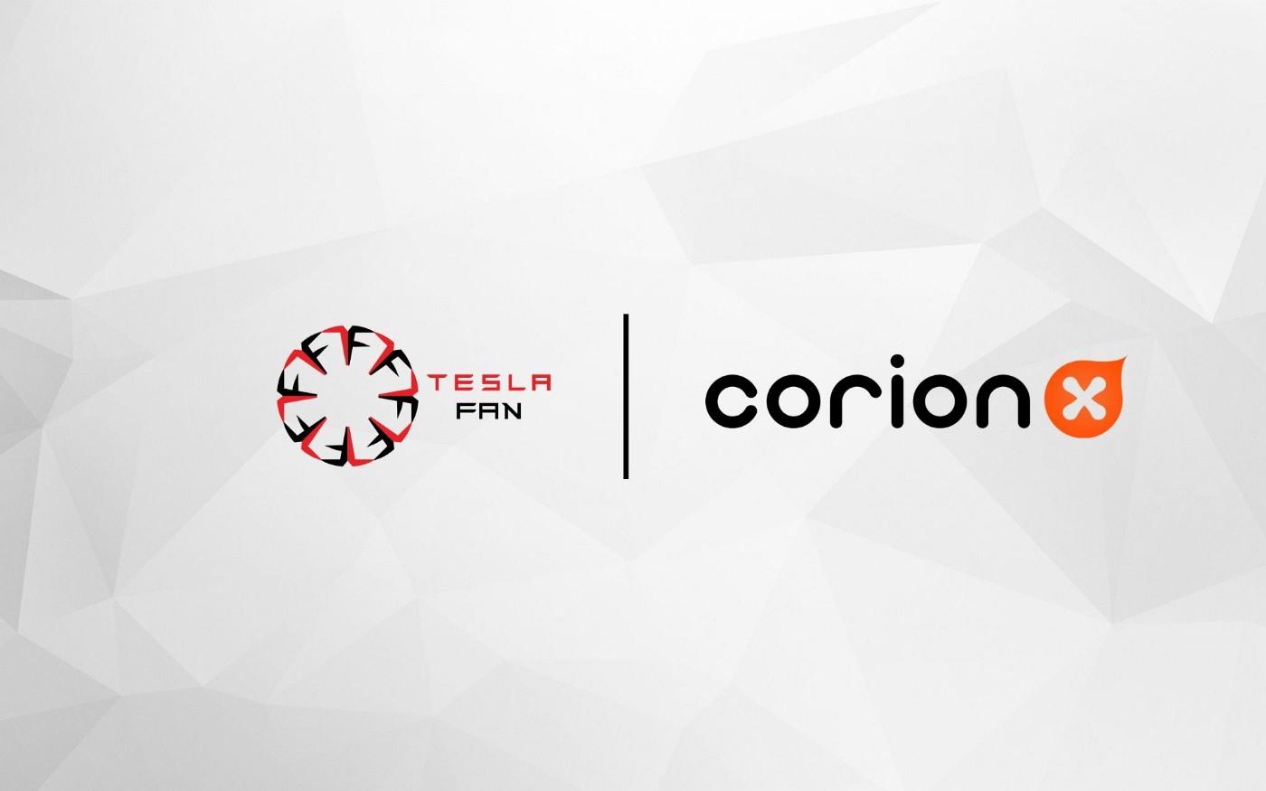 CorionX and Teslafan Partnership Announcement